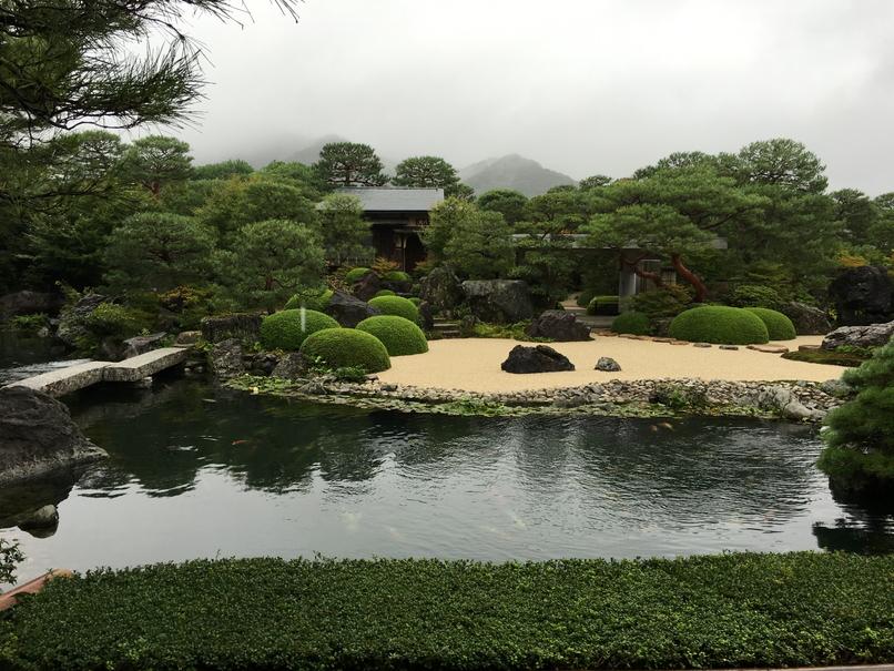 足立美術館の日本庭園7