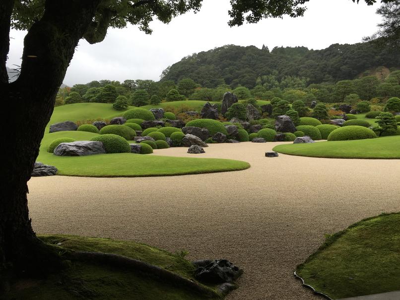 足立美術館の日本庭園5