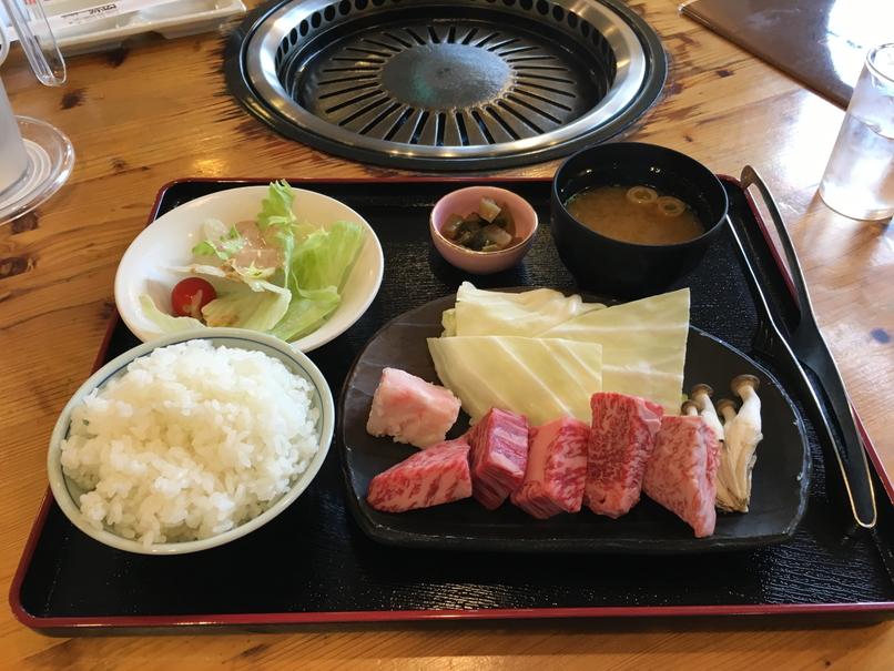 島根和牛ロース定食