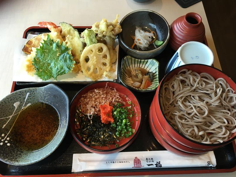 【島根・鳥取旅行その7】出雲そば食べた